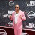 O rapper Flo Rida no BET Awards 2015, neste domingo, 28 de junho de 2015