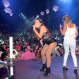 Neymar dançou ao som de Anitta em um show realizado pela cantora na noite de domingo, dia 28 de junho de 2015