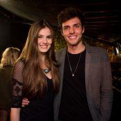 Camila Queiroz lembra reencontro com o namorado, Lucas Cattani: 'Foi destino'