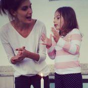 Carol Francischini comemora 2 anos e 7 meses da filha, Valentina: 'Princesa'