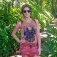 Isabella Santoni mescla estilos romântico e esportista