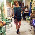Isabella Santoni conta com a orientação da consultora de imagem Amanda Olivera para escolher seus looks