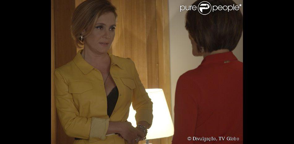 5ef7343284 Inês (Adriana Esteves) se revela a mandante do sequestro para Beatriz  (Gloria Pires