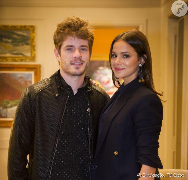 Bruna Marquezine e Maurício Destri enfrentam primeira crise no namoro, conta Fernando Oliveira, do jornal 'Agora São Paulo' desta quarta-feira, 1º de julho de 2015