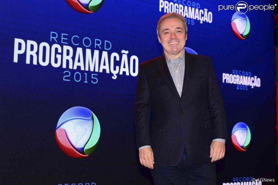 Gugu Liberato renovou seu contrato com a TV Record por mais três anos, segundo o colunista Lauro Jardim, da revista 'Veja'