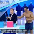 Gugu Liberato reestreou o quadro da 'Banheira do Gugu' em seu programa na TV Record