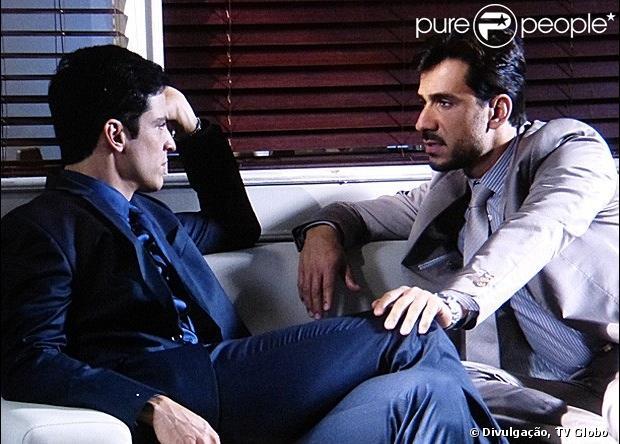 Félix (Mateus Solano) se decepciona com Jacques (Julio Rocha) e acusa o médico de estar enrolando-o para conseguir o lugar de Lutero (Ary Fontoura) no San Magno, em 'Amor à Vida', em 27 de junho de 2013