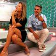 Ivan também dividiu a atração esportiva com a jornalista Cristiane Dias