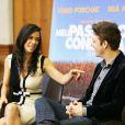 Fábio Porchat e Miá Mello falam sobre o novo trabalho em entrevista ao programa 'Preview', do Telecine Pipoca