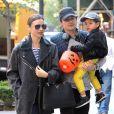 Orlando Bloom e Miranda Kerr são pais de Flynn, hoje com cinco anos