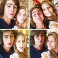 Na reta final de 'Malhação', Isabella Santoni postou fotos antigas com Rafael Vitti em seu Instagram nesta sexta-feira, 3 de junho de 2015, e se declarou: 'O que importa mesmo na vida são os laços que permanecem'