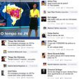 Maju foi alvo de racismo na página oficial do Facebook do 'Jornal Nacional'