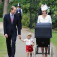 Kate Middleton e príncipe William chegaram a Sandringham, no Reino Unido, acompanhados pela caçula, Charlotte Elizabeth Diana, e pelo primogênito, George