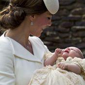 Kate Middleton e príncipe William batizam a filha caçula, Charlotte