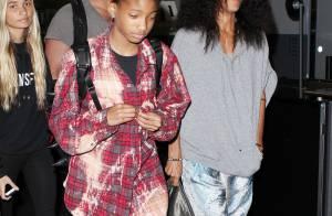 Jada Pinkett Smith e os filhos são flagrados com roupas extravagantes nos EUA