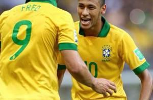 Neymar e Fred comemoram vitória da Seleção Brasileira: 'Vamos para a final'