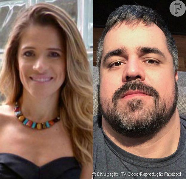 Ingrid Guimarães e Marcelo Arantes, ex-participante do 'BBB8', trocaram farpas no Twitter, na noite desta quinta-feira, 30 de julho de 2015