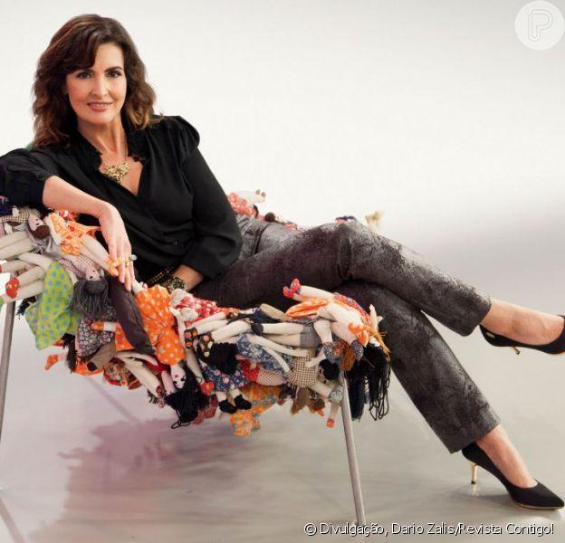 Fátima Bernardes diz que gosta de sair para jantar com William Bonner uma vez por semana. Ela conversou com a revista 'Contigo!', de 3 de julho de 2013