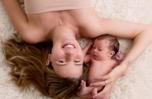 Debby Lagranha posa com marido e a filha Duda: 'Muito delícia'