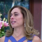 Cissa Guimarães chora com matéria de adoção ao reassumir comando do 'Mais Você'