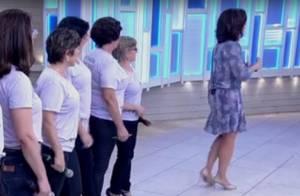Fátima Bernardes deixa programa ao vivo para retirar cisco: 'Estava incomodando'