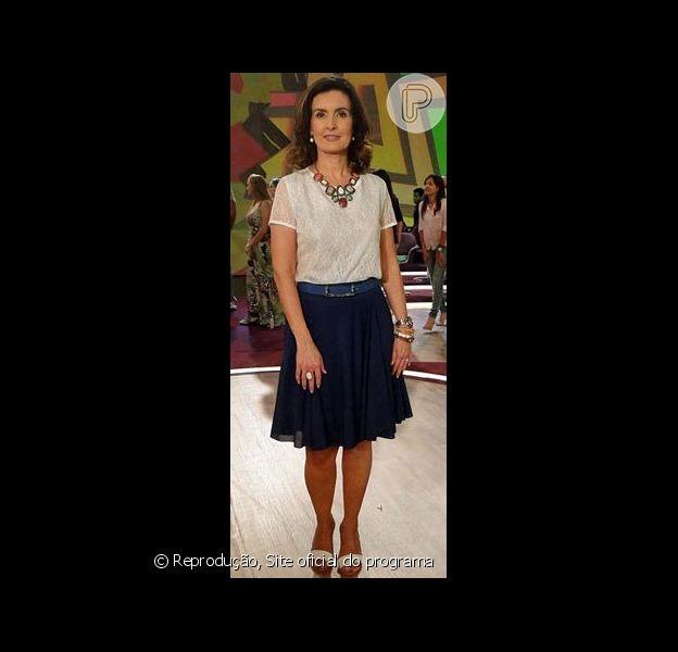 Maxicolar de Fátima Bernardes está entre os mais pedidos na Central de Atendimento ao Telespectador da Globo, em novembro de 2012