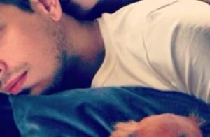 Sabrina Sato dá beijo na nuca de João Vicente e publica foto no Instagram
