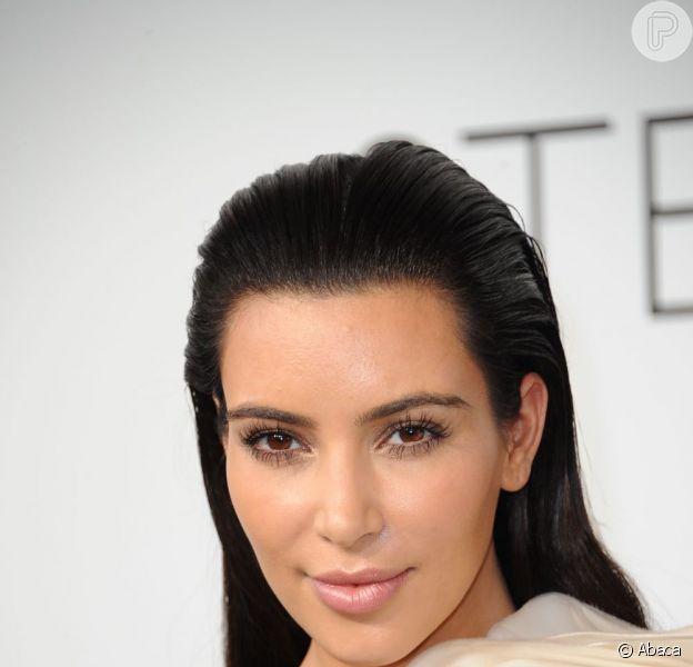 Kim Kardashian diz que está amando ser mãe, em 18 de julho de 2013