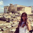 Bruna Marquezine visita os pontos turísticos da Grécia em viagem com as amigas