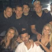 Ronaldo comemora aniversário em Miami com namorada, Celina Locks, e Sabrina Sato