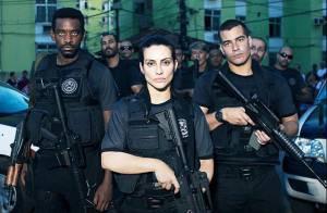 Cleo Pires veste uniforme de policial em filme e fãs brincam: 'Me prende'