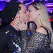 Rainer Cadete, Visky de 'Verdades Secretas', beija a namorada no Rock in Rio