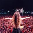 Há uma semana, Paula Fernandes fez um show lotado em Carangola, Minas Gerais: 'Estou vivendo a melhor fase da minha vida'