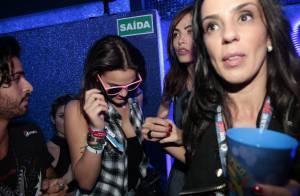 Bruna Marquezine e Maurício Destri se beijam novamente durante o Rock in Rio