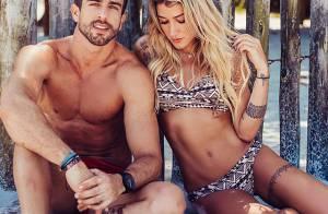 Gabriela Pugliesi aceita pedido de namoro de modelo em programa de rádio ao vivo