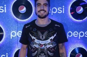 Caio Castro e mais famosos curtem quarto dia de Rock in Rio. Veja fotos!