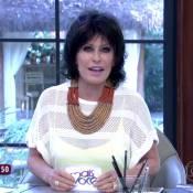 Ana Maria Braga explica mudança de visual no 'Mais Você': 'Peruca'