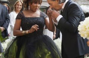 Tina Turner se casa aos 73 anos e explica a escolha do vestido nada tradicional
