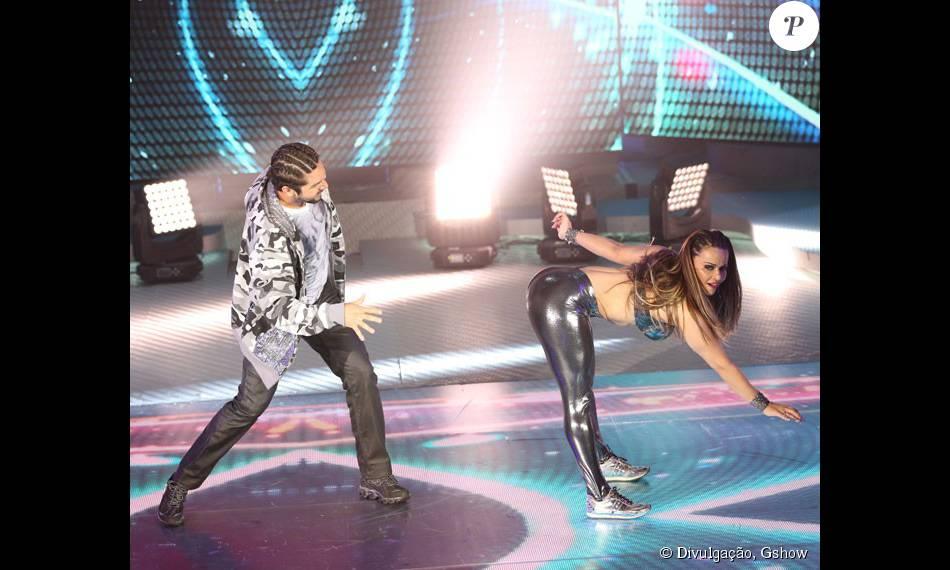 Viviane Araújo é a líder do 'Dança dos Famosos'