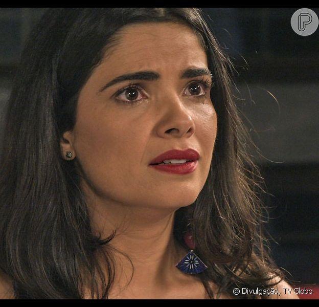 Tóia (Vanessa Giácomo) vai descobrir através de Romero (Alexandre Nero) toda a verdade sobre o seu passado no capítulo de 'A Regra do Jogo' que vai ao ar no sia 17 de outubro