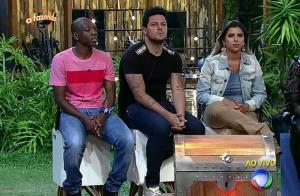 'A Fazenda 8': Ana Paula Minerato, Thiago Servo e Amaral estão na primeira Roça