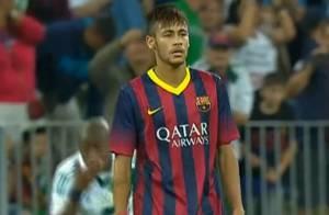 Neymar estreia pelo Barcelona sem nenhum gol em partida contra time polonês