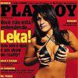 A primeira ex-participante de um reality show a posar nua foi Leka, do 'BBB1', em 2002