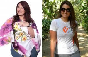 Renata Celidonio perde 60 kg e quer se livrar de mais 20kg: 'Ainda estou obesa'