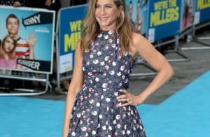 Jennifer Aniston participa da première do filme 'Família do Bagulho' em Londres