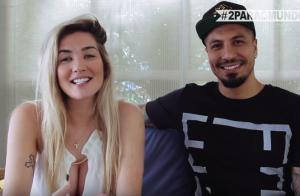 Ex- BBB's Aline Gotschalg e Fernando Medeiros revelam nome do bebê: Lucca