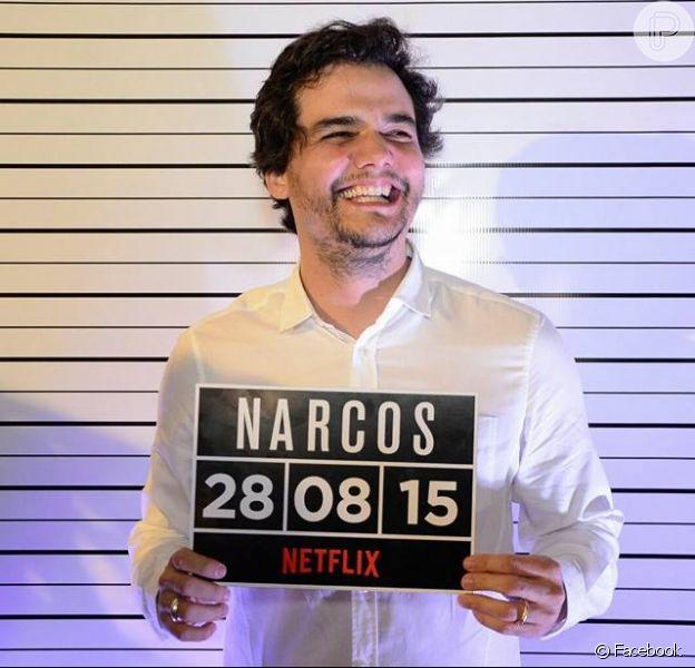 Wagner Moura foi indicado ao prêmio Globo de Ouro na categoria Melhor Ator em Série Dramática por 'Narcos'