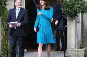Kate Middleton usa look de quase R$ 8 mil para visitar instituição. Fotos!