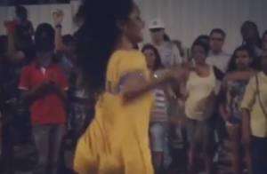 Juliana Alves exibe pernões e samba no pé em ensaio de Carnaval. Veja vídeos!