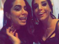 Anitta posa com sósia em bastidores de show em São Paulo: 'Até fala igual a mim'